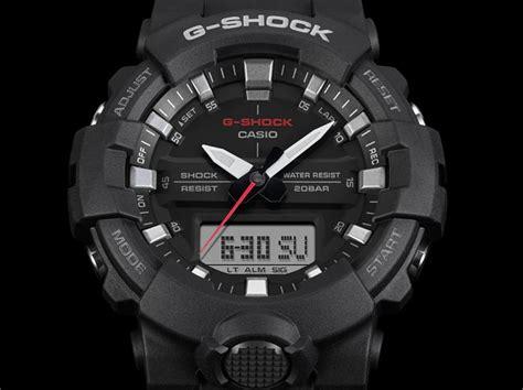 Jam Casio Gshock Ga 100 Dual Time Black Kode Ss2810 2 casio g shock standard digital analog ga 800 1adr black