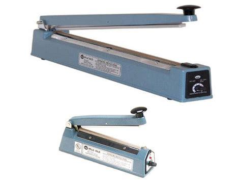 impulse hand sealer mm flat wire heat seal plastic film bag strong sealing ebay