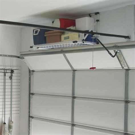 Garage Storage Rack Ideas Overhead Storage Racks For Garage Ideas The Better