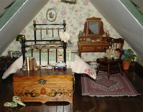 doll house bed carolyn s little kitchen first dollshouse bedroom