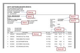 gst invoice template invoice sample template