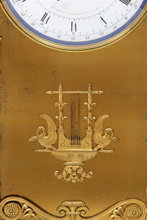 important french amor  psyche mantel clock design