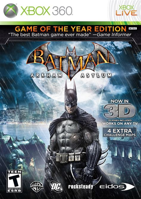 Ps4 Batman Arkham Of The Year Edition Goty batman arkham asylum of the year edition xbox 360 ign