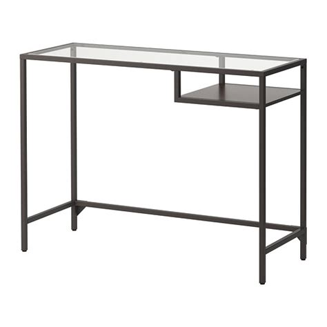 Glass Console Table Ikea Vittsj 214 Laptop Table Ikea