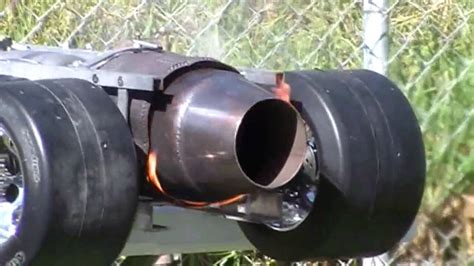 smithys  scale rc jet dragster  burner demo youtube