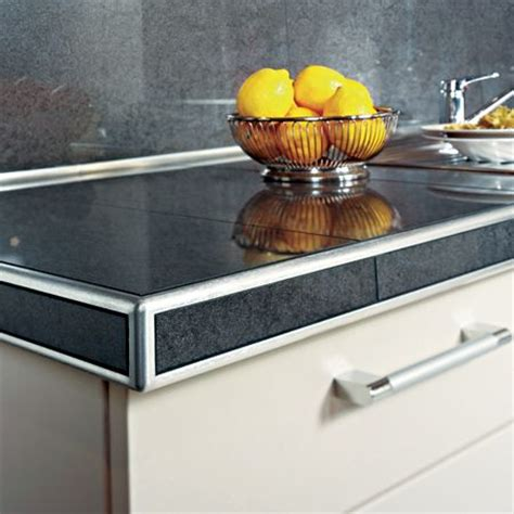 Metal Trim For Countertops by Putting In Granite Countertops Granite Countertops