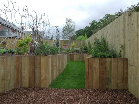 Diy Retaining Wall Sleepers by 17 Best Images About Retaining Walls On Wood
