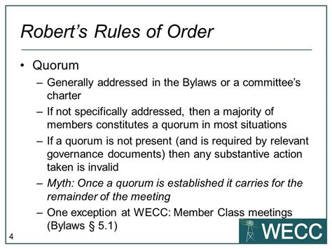 Robert S Rules Of Order Ppt Video Online Download Robert S Of Order Bylaws Template