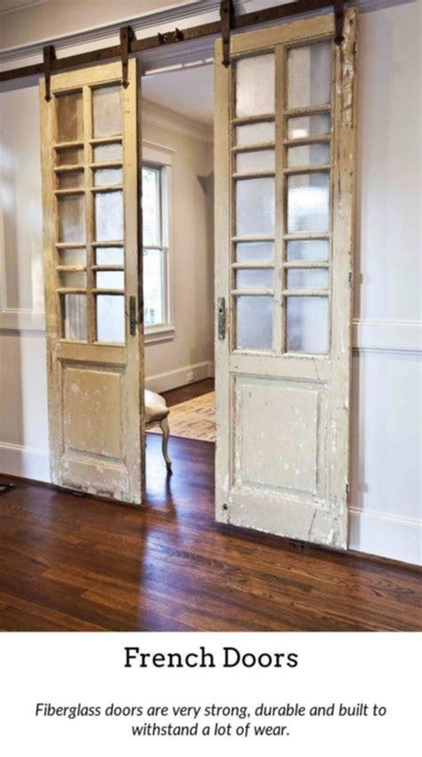 french doors add  bit  elegance   house