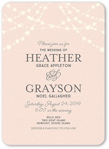 can you send wedding invitations 3 months in advance glowing ceremony 5x7 wedding invites shutterfly
