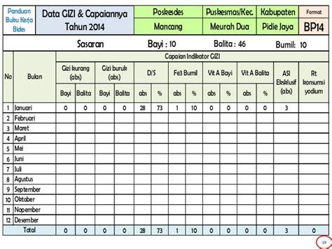 format buku rt format panduan buku kerja bidan di desa tahun 2014
