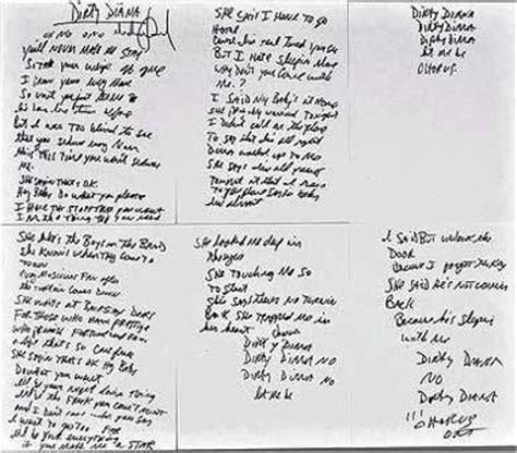 testo black or white appunti e scritti a mano di michael pagina 3