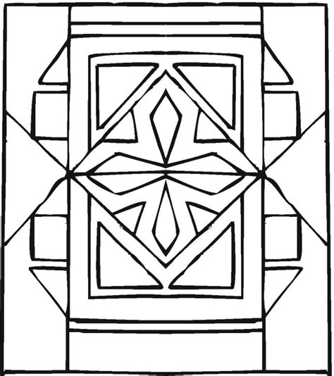Peugeot Designs Colouring Pages Geometric Design Coloring Pages