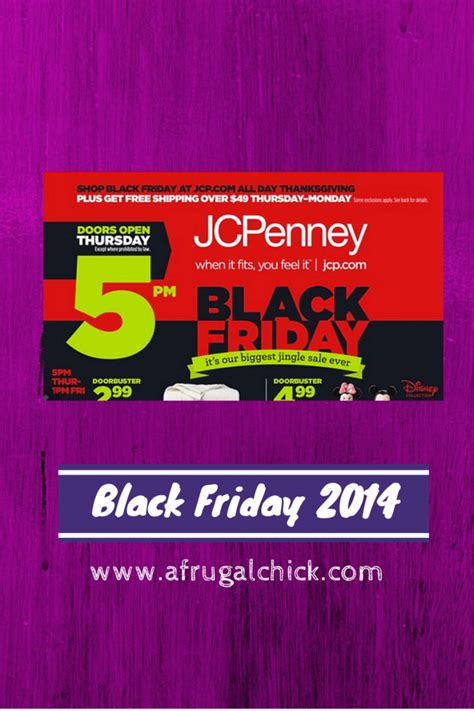 black friday 2014 jcpenney sales