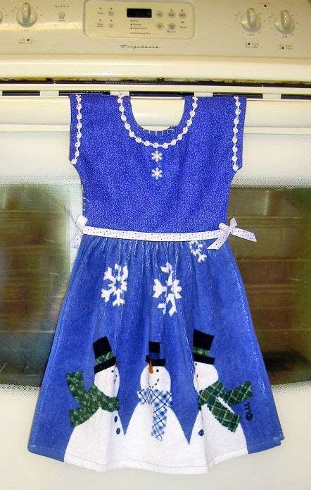 Handuk Towel Dress hanging dish towel dress pattern a project