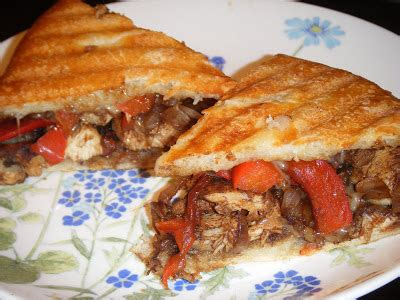 Healthy Balsamic Glazed Chicken And Bell Pepper Sandwiches by Erin S Food Files 187 Balsamic Glazed Chicken Bell Pepper