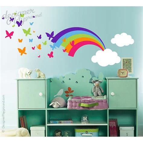 wall stickers rainbow rainbow wall decal roselawnlutheran