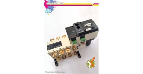 Cos Motorized 4p 100a Atys S Socomec change switch 4p motorized atys r socomec