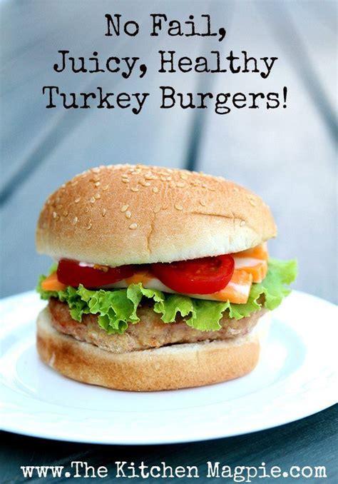 ground turkey breast burger recipes 1000 ideas about healthy turkey burgers on