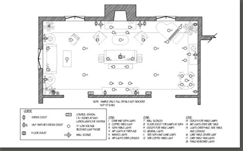lighting floor plan lighting plan sle pictures to pin on pinterest pinsdaddy