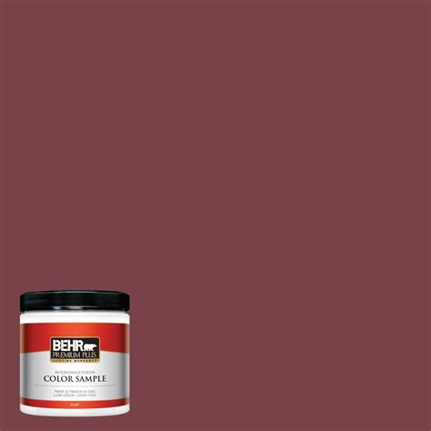 behr s spiced wine paint for the front door i love this behr premium plus 1 gal m320 2 rice wine flat interior