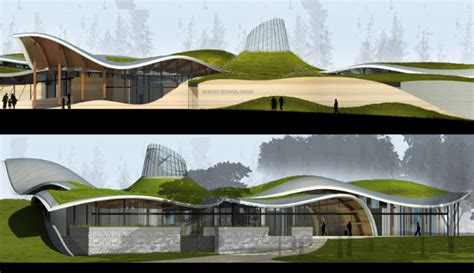 Landscape Forms Vancouver Construction Underway On Green Vandusen Botanical