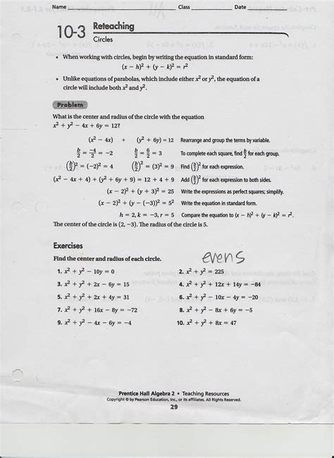 Pre Calculus Worksheets by Matelic Image Precalculus Review Worksheets