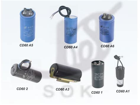motor starting capacitor suppliers ac motor start capacitor cd60 sok china manufacturer capacitor electronic components