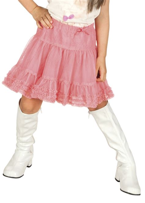childrens size white 60s knee boots 49011 2 3