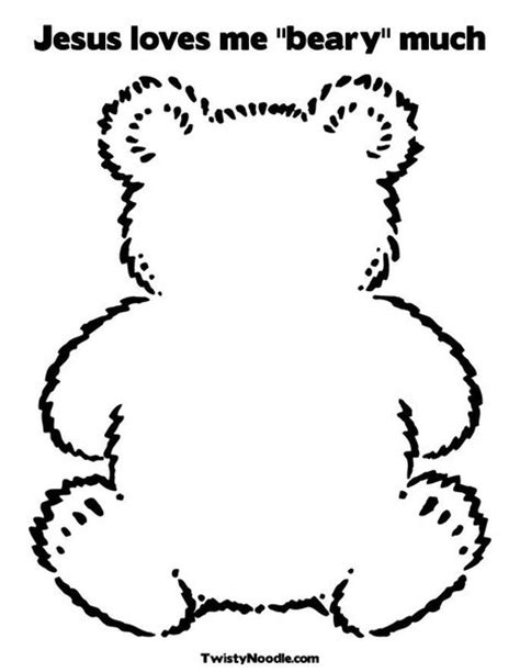 i love you beary much coloring page jesus loves me quot beary quot much coloring page from