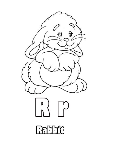 coloring pages that start with the letter r animations a 2 z coloring pages of letters with animals r
