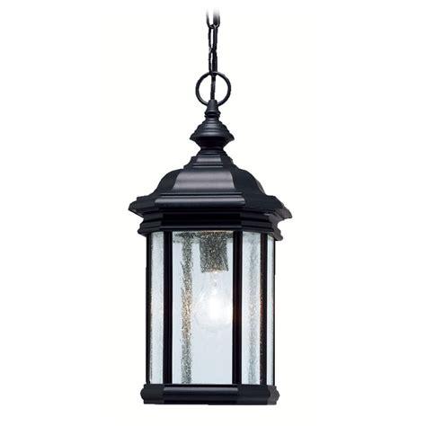 Outdoor Swag Lights Kichler Outdoor Hanging Light In Black Finish 9810bk Destination Lighting