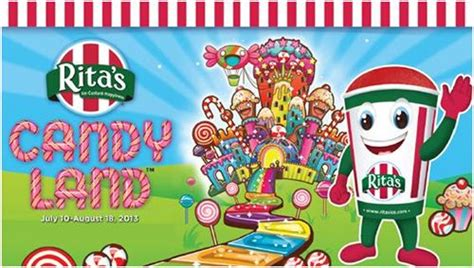 Rita S Italian Ice Gift Card Balance - rita s italian ice begins candy land collect and win game today