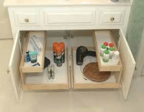 Pull Out Bathroom Storage Challenge 13 The Bathroom Sink The Seana Method