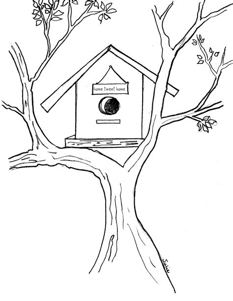 free coloring pages bird houses birdhouse coloring pages coloring pages wallpaper