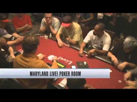 maryland live casino poker room maryland live casino opens poker room youtube