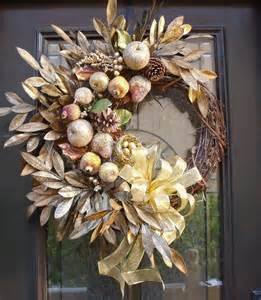 modern fall wreaths sugared fruit christmas wreath della
