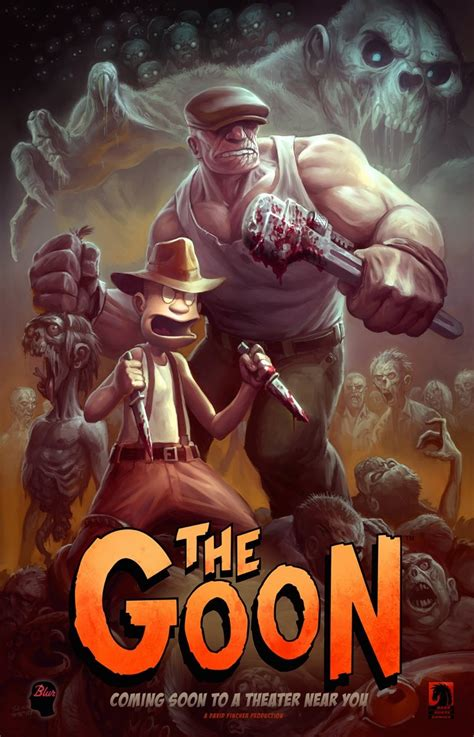 iâ ll take god hold the religion books quint talks with the goon creator eric powell about the