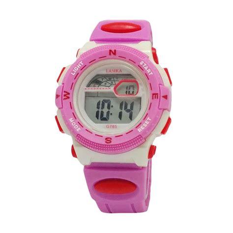 Jam Tangan Casio Anak Perempuan jual lasika g 785 ad jam tangan anak perempuan pink