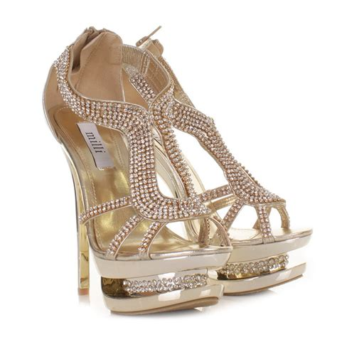 gold prom shoes elite wedding looks