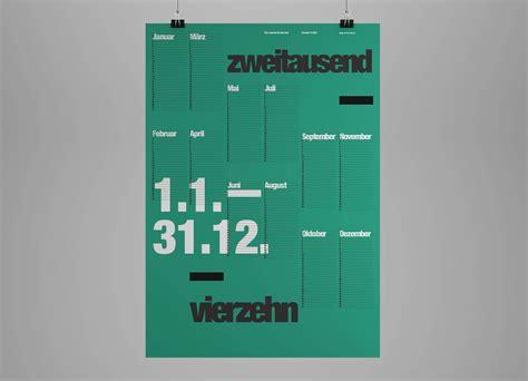 typography calendar the international typographic wall calendar 2014 farid balian