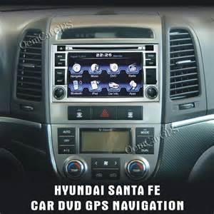 Hyundai Santa Fe Navigation Hyundai Santa Fe Din Autoradio Dvd Gps Navigation