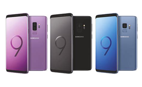 comment samsung compte concurrencer l iphone x avec galaxy s9