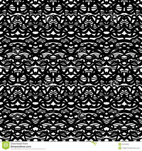 wallpaper black and white fashion ethnic pattern in black and white stock vector