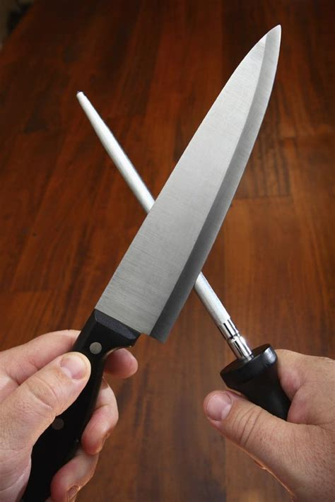 sharpen a knife with a steel how to sharpen all your knives