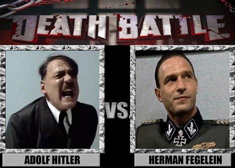 Fegelein Meme - death battle hitler vs fegelein by mrangrydog on deviantart