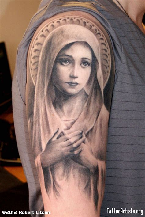mary tattoo design tattoos3d tattoos