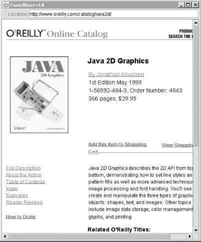 o reilly java swing 15 more swing components learning java book