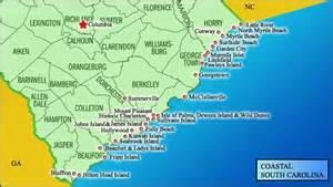 map of carolina and south carolina beaches map of south carolina coast south carolina i live here