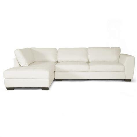Left Facing Sectional Sofa Orland Left Facing Sectional Sofa In White Ids023 Sec Ltb07 White Lfc